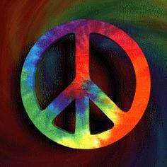 Peace Sign Tie Dye (Screensaver)