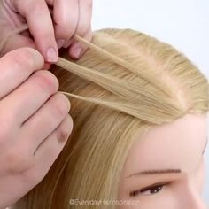 Kawaii Hairstyles, Easy Hairstyles For Long Hair, Different Hairstyles, Girl Hairstyles, Braided Hairstyles, Baby Shoe Storage, Facial Tips, Cheer Hair, Aesthetic Hair