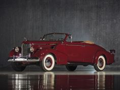 1938 Cadillac V16 Convertible Coupe by Fleetwood (38-9067)