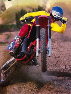 For this week's GP's Classic Steel we are going to take a look back at the bike that helped spark Honda's renaissance, the 1983 For this week's GP's Classic Steel we are going to take a Honda Dirt Bike, Honda Bikes, Dirt Biking, Motocross Action, Motocross Riders, Vintage Motocross, Vintage Racing, Honda Cr, Vintage Bikes