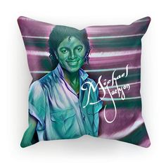 Michael Jackson Throw Back Cushion