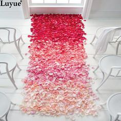 Cheap confetti decorations, Buy Quality confetti streamer directly from China confetti gun Suppliers: Top quality 500pcs or 1000pcs Silk Rose Flower Petals Leaves Wedding Decorations Party Festival Table Confetti Deco