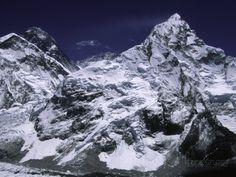 オールポスターズの マイケル・ブラウン「Mount Everest and Ama Dablam, Nepal」高品質プリント