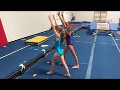 Cartwheels, Roundoffs - YouTube