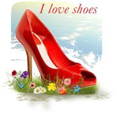 """I love shoes"" by maria-kononets on Polyvore"