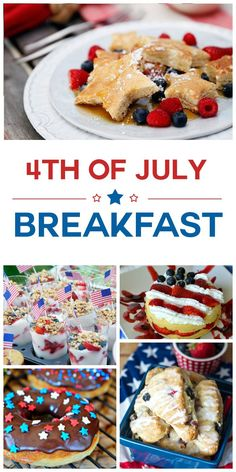10 of July Breakfast Ideas 10 of July Breakfast Ideas. Start your Independence Day off right with a fun and festive patriotic breakfast! Source by twocametrue 4th Of July Desserts, Fourth Of July Food, 4th Of July Celebration, 4th Of July Party, July 4th, Patriotic Party, Patriotic Crafts, Healthy Breakfast Bowl, Breakfast Ideas