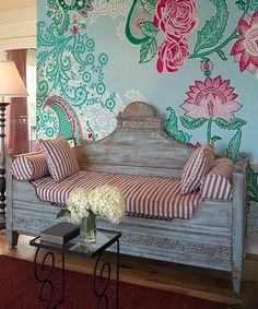 Take a look at this Paisley Rose Mural on zulily today! For the wall in the entry way/dining room