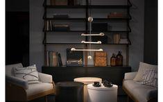 Tapio Anttila Collection - Punnus riippuvalaisin Lamp Design, Pendant Lamp, Floor Lamp, Shelving, Bookcase, Cool Designs, Table Lamp, Flooring, Led