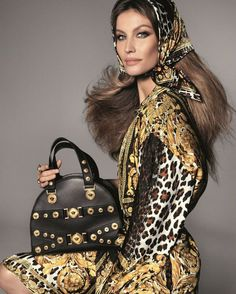 Gisele Bundchen stars in Versace's spring-summer 2018 campaign