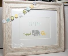 Baby Frame for Isaiah by justcrazy - Cards and Paper Crafts at Splitcoaststampers