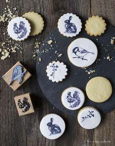 Stempelkekse| Meine kreative Kekswerkstatt - über 40 Rezepte zum Backen und Verzieren mit tollen Verpackungsideen | Jennifer Friedrich | © monsieurmuffin