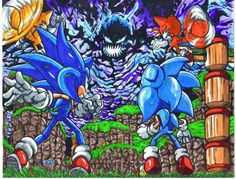 Sonic and the time eater