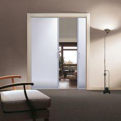 Risultati immagini per porta scorrevole vetro cucina prezzi | Porte ...