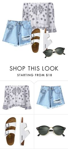 """""""Summer"""" by grraciie-386 on Polyvore featuring Chicnova Fashion, TravelSmith and Ray-Ban"""