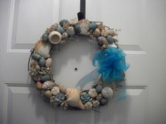 Grapevine Seashell Potpourri Wreath by msPenelopescloset on Etsy, $50.00