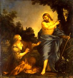Pietro da Cortona - The Appearance of Christ to Mary Magdalene. part 10 Hermitage. Download painting.