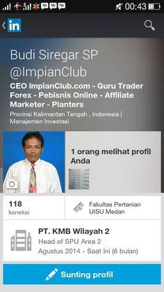 LinkedIn Budi Siregar SP @ImpianClub  visit : http://linkedin.com/in/impianclub