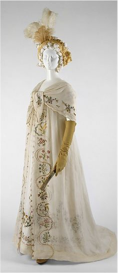 1798 Fashionable Attire- Metropolitan Museum of Art