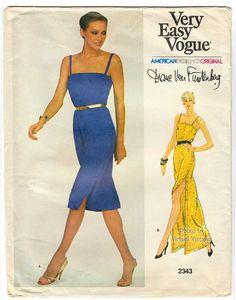 Vogue 2343 Diane Von Furstenberg - 1979