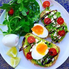 Do breakfast the healthy way. . . like Kayla Itsines.  Source: Instagram user kayla_itsines