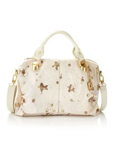 Sofia Calf Hair Satchel by Charles Jourdan at Last Call by Neiman Marcus.  Satchel Handbags eb6d39a20de2e