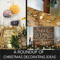 everything for Christmas - diy ornaments, decor, tree and wreath decorating ideas, homemade gifts and wrap....
