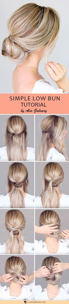 Girls who don�t believe that there are easy updos that can be done at home, this article is for you! We will show you that not all the beautiful hairstyles are complicated and share with you ideas on how to style it with ease. Check out the ideas and tuto
