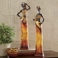 African Woman Figurine from Midnight Velvet®