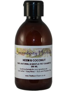 Neem & Coconut Pet Shampoo - Neem oil is claimed to have many health benefits and is a powerful natural insect repellent and pesticide. It is used extensively for skin care and disorders in humans and animals. SLS and paraben free. Coconut Oil For Fleas, Coconut Oil For Teeth, Benefits Of Coconut Oil, Cat Health Care, Homemade Toothpaste, Oils For Dogs, Pet Shampoo, Neem Oil, Herbalism