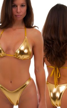 Womens-Shaped-Triangle-Swimsuit-Top-in-Metallic-Liquid-Gold-by-Skinz