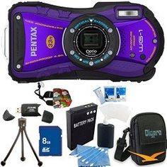 Best Cheap Pentax Optio Adventure Series 14 MP Waterproof Digital Camera with Wide-Angle Optical Lomo Camera, Pink Camera, Cameras Nikon, Camera Cards, Camera Prices, Camera Test, Best Digital Camera, Camera Shop