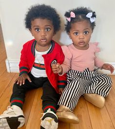 Baby Twins, Baby L, Cute Twins, Twin Babies, Cute Babies, Cute Black Kids, Beautiful Black Babies, Beautiful Children, Child Fever