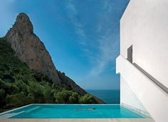 A Spectacular Cliffside Pool in Spain