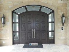 wp_128 Wooden Double Doors, Center Park, Frederic, Delray Beach, Wood Doors, Solid Wood, Garage Doors, Outdoor Decor, Home Decor