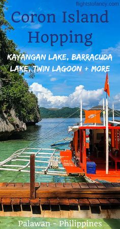 Looking for things to do in Coron? A Coron Island Hopping Tour is a must in Pala. China Travel, Japan Travel, Coron Island, Philippine Holidays, Travel Guides, Travel Advice, Travel Tips, Travel Destinations, Coron Palawan