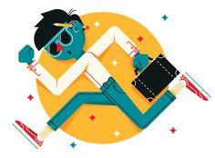 Editorial Illustration by Marco Goran Romano, via Behance
