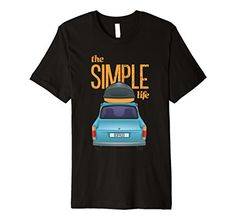 Mens The Simple Life T-shirt, Illustration for Free Spiri...
