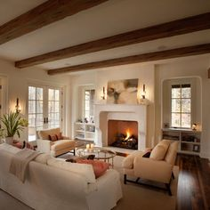 English Country in Northome - traditional - family room - minneapolis - Murphy & Co. Design