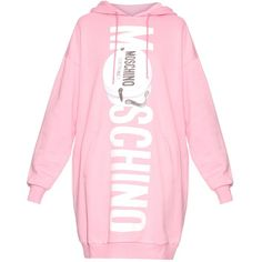 New dress tight pink cute outfits Ideas Hooded Sweater Dress, Pink Sweater Dress, Cotton Sweater, Moschino, Vetement Fashion, Tight Dresses, Pink Dresses, Cotton Dresses, Oversized Dress
