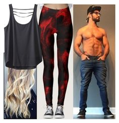 """""""Hanging out with Seth Rollins!!"""" by carmellahowyoudoin ❤ liked on Polyvore featuring Kavu, WWE and sethrollins"""