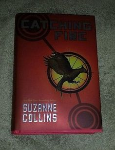 awesome Catching Fire Hardcover Book - 1st Edition - Hunger Games Book 2 of Trilogy - For Sale View more at http://shipperscentral.com/wp/product/catching-fire-hardcover-book-1st-edition-hunger-games-book-2-of-trilogy-for-sale/