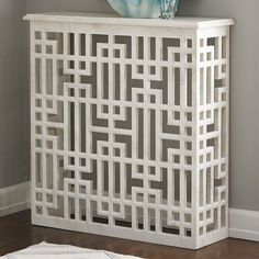 Shop for Global Views Marble Gridblock Console, and other Living Room Console Tables at Noel Furniture in Houston, TX. Best Radiators, Home Radiators, Luxury Home Decor, Diy Home Decor, Modern Radiator Cover, Marble Console Table, Console Tables, Luxury Furniture, Furniture Decor