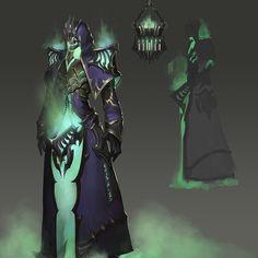 Undead concept by J JP on ArtStation. Dark Fantasy Art, Fantasy Rpg, Fantasy Artwork, Fantasy Character Design, Character Design Inspiration, Character Concept, Character Art, Fantasy Monster, Monster Art