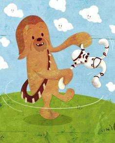 chewbacca so cute!