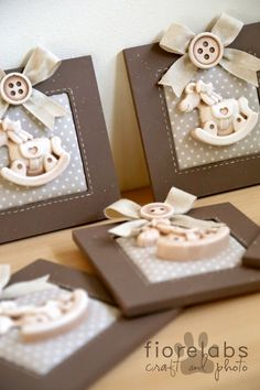Perfect for a baby shower Baby Party, Baby Shower Parties, Bomboniere Ideas, Diy And Crafts, Crafts For Kids, Do It Yourself Baby, Christening Favors, Baby Favors, Home And Deco
