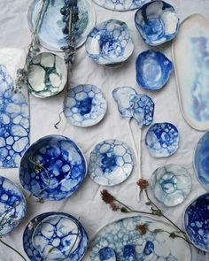 Ceramics in porcelain by www.meadowceramics.com
