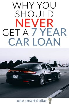 Have you been thinking about lowering your monthly car payment with a seven year loan? You might want to think twice about that idea. #AutoLoan #CarLoan #Debt #MoneyMatters