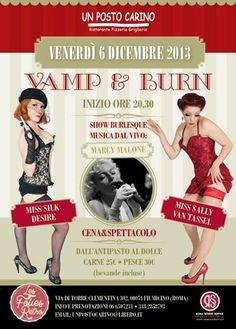 Vamp & Burn - 6 dicembre 2013