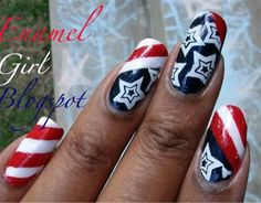 15 Stunning Fourth Of July Nail Art Designs Ideas Trends Stickers 2014 4th Of July Nails 15 15 Stunning Fourth Of July Nail Art Designs, Ide...