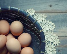 """Food Photography - country farmhouse - rustic kitchen wall art print - still life eggs photograph lace easter decor 8x10 - """"Country Morning""""..."""